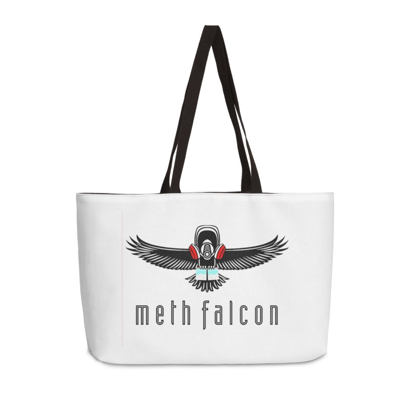 meth falcon Accessories Weekender Bag Bag by True Crime Comedy Team Shop