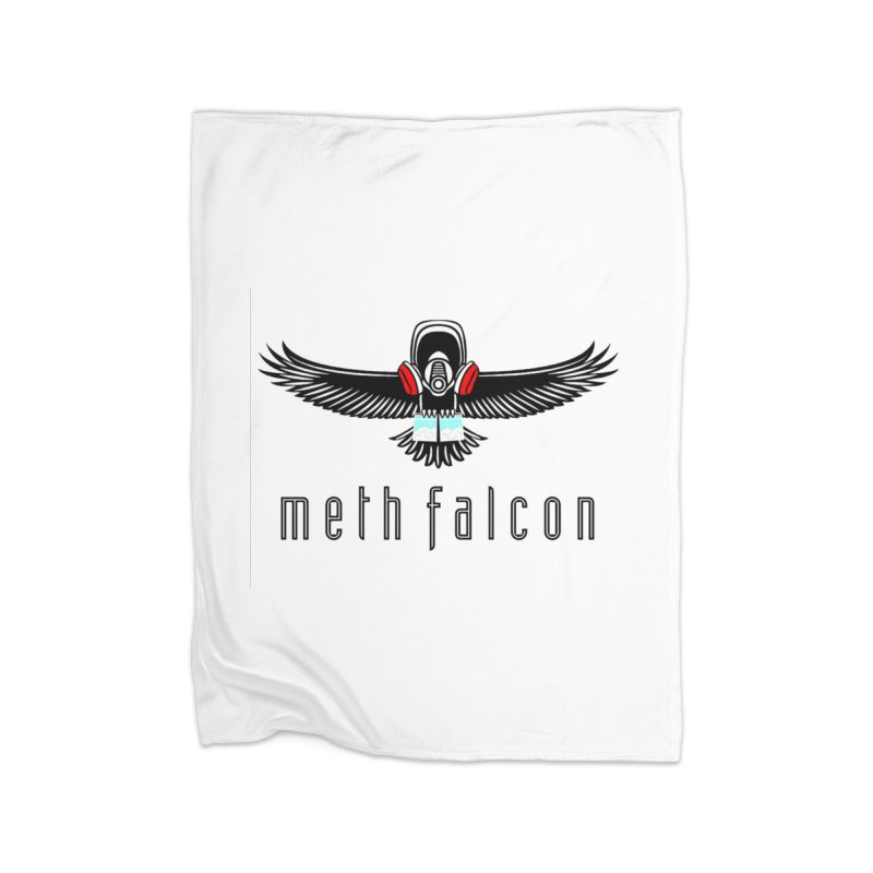 meth falcon Home Fleece Blanket Blanket by True Crime Comedy Team Shop