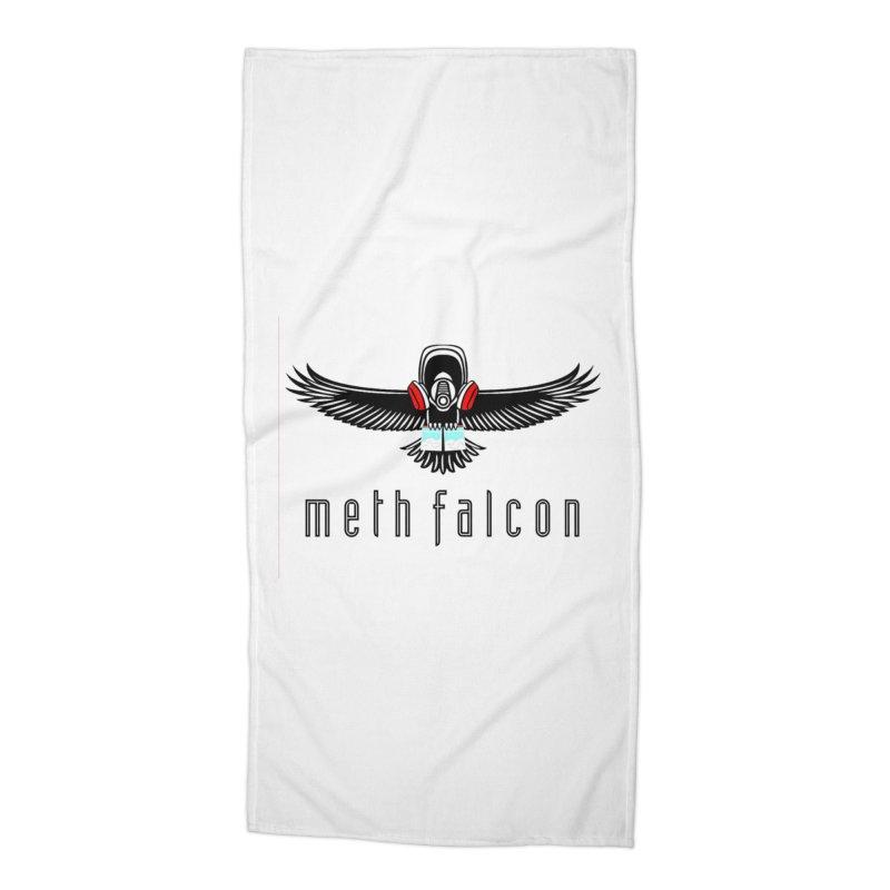 meth falcon Accessories Beach Towel by True Crime Comedy Team Shop