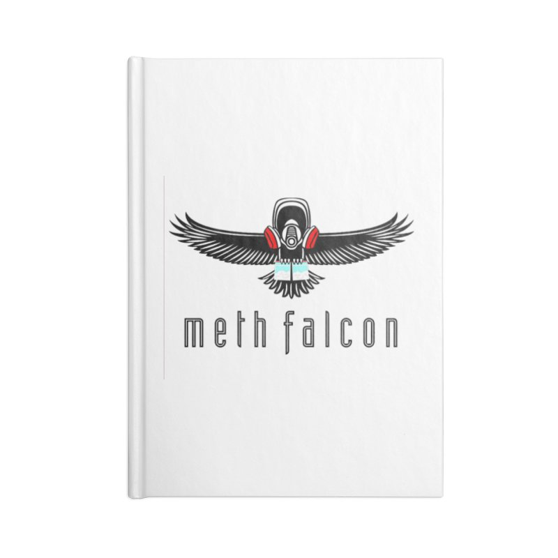 meth falcon Accessories Lined Journal Notebook by True Crime Comedy Team Shop