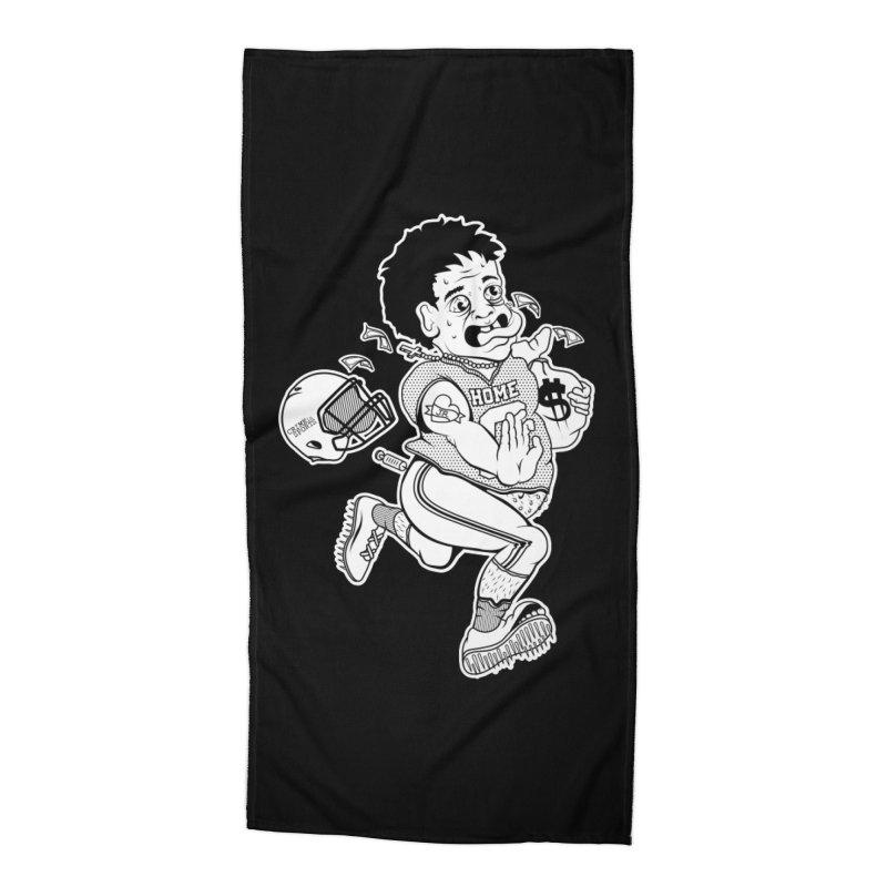 Crime in Sports Accessories Beach Towel by True Crime Comedy Team Shop