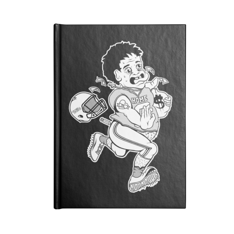 Crime in Sports Accessories Blank Journal Notebook by True Crime Comedy Team Shop