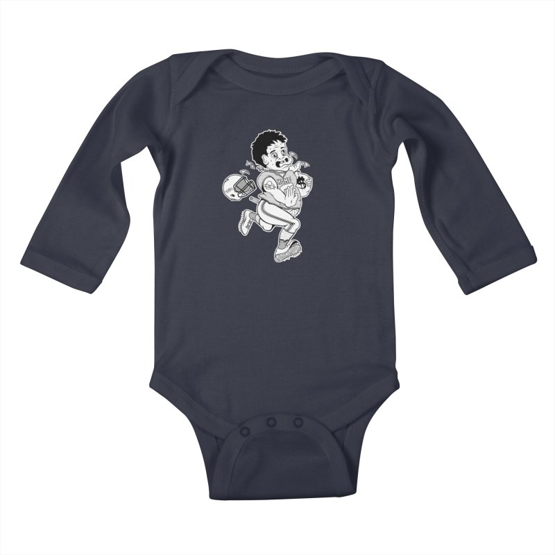Crime in Sports Kids Baby Longsleeve Bodysuit by True Crime Comedy Team Shop