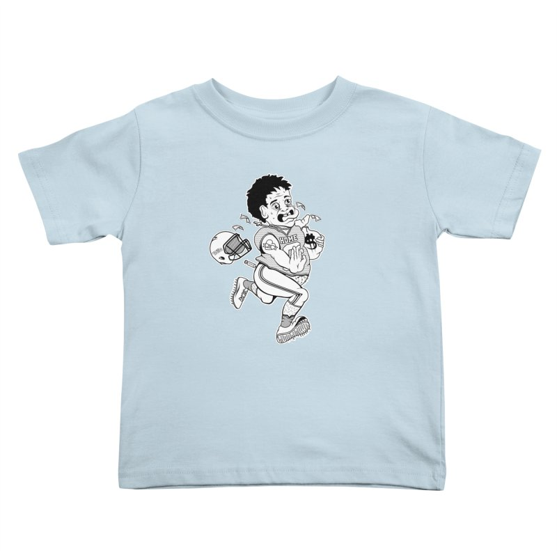 Crime in Sports Kids Toddler T-Shirt by True Crime Comedy Team Shop