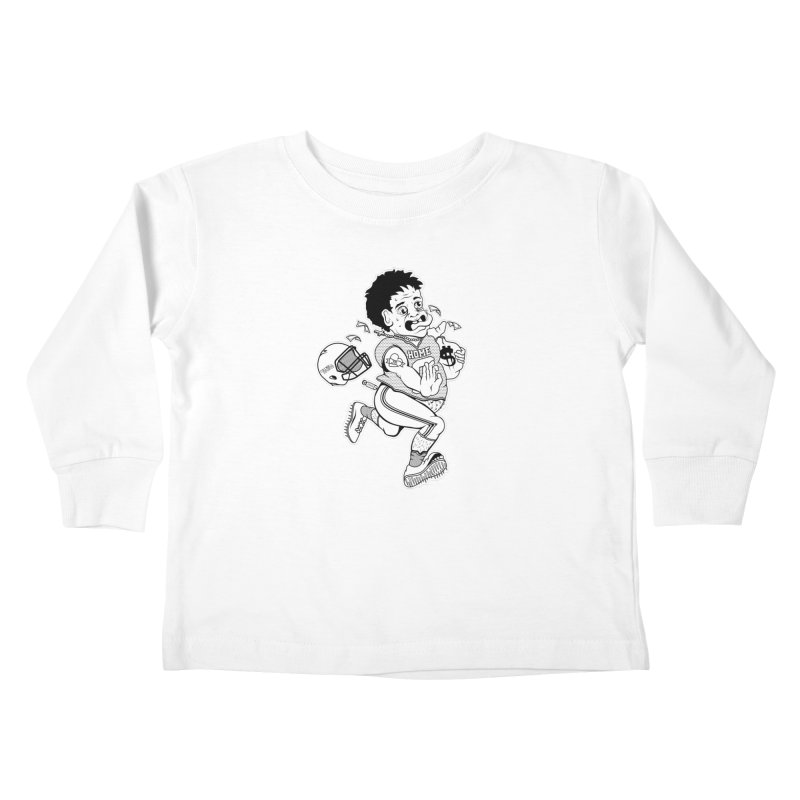 Crime in Sports Kids Toddler Longsleeve T-Shirt by True Crime Comedy Team Shop