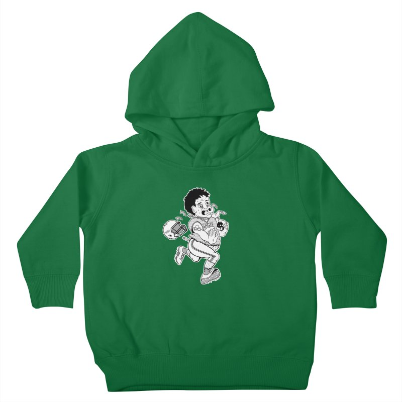 Crime in Sports Kids Toddler Pullover Hoody by True Crime Comedy Team Shop