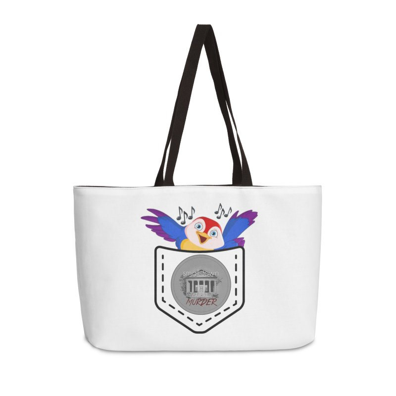 Pocket Robin Accessories Weekender Bag Bag by True Crime Comedy Team Shop