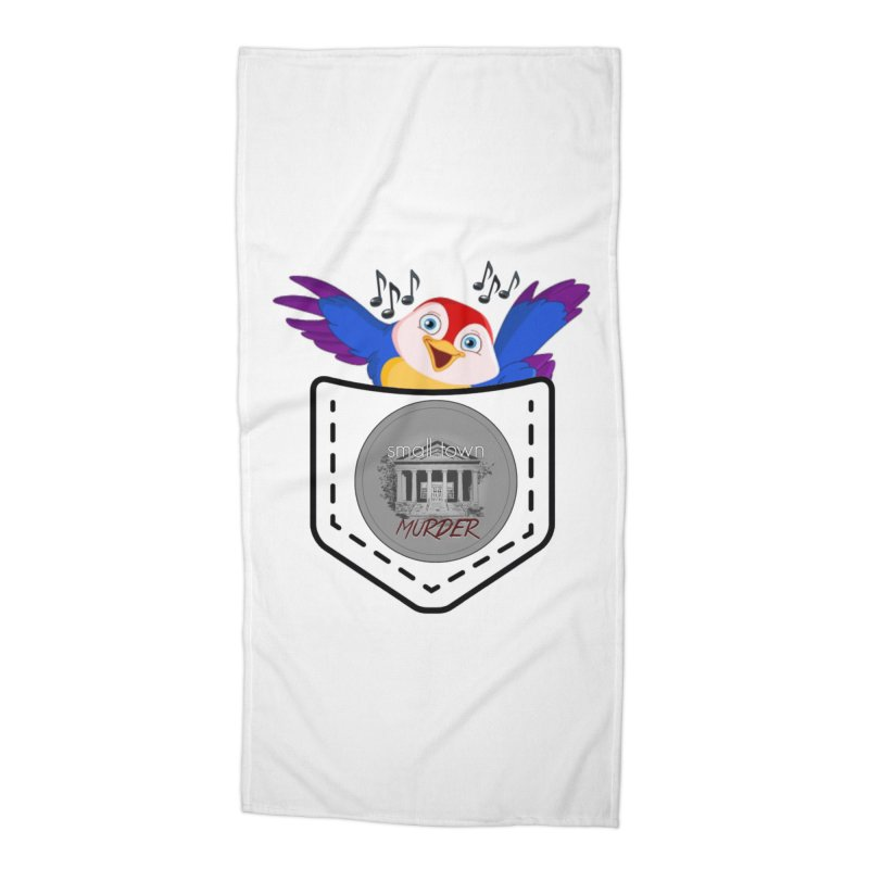 Pocket Robin Accessories Beach Towel by True Crime Comedy Team Shop
