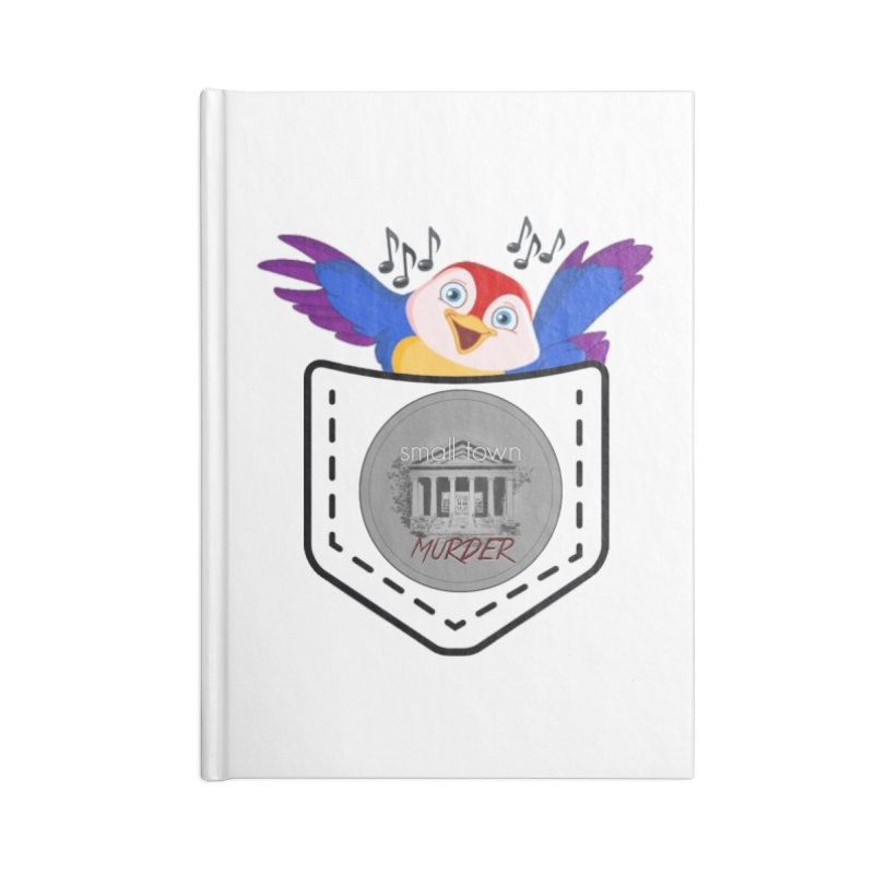 Pocket Robin Accessories Lined Journal Notebook by True Crime Comedy Team Shop