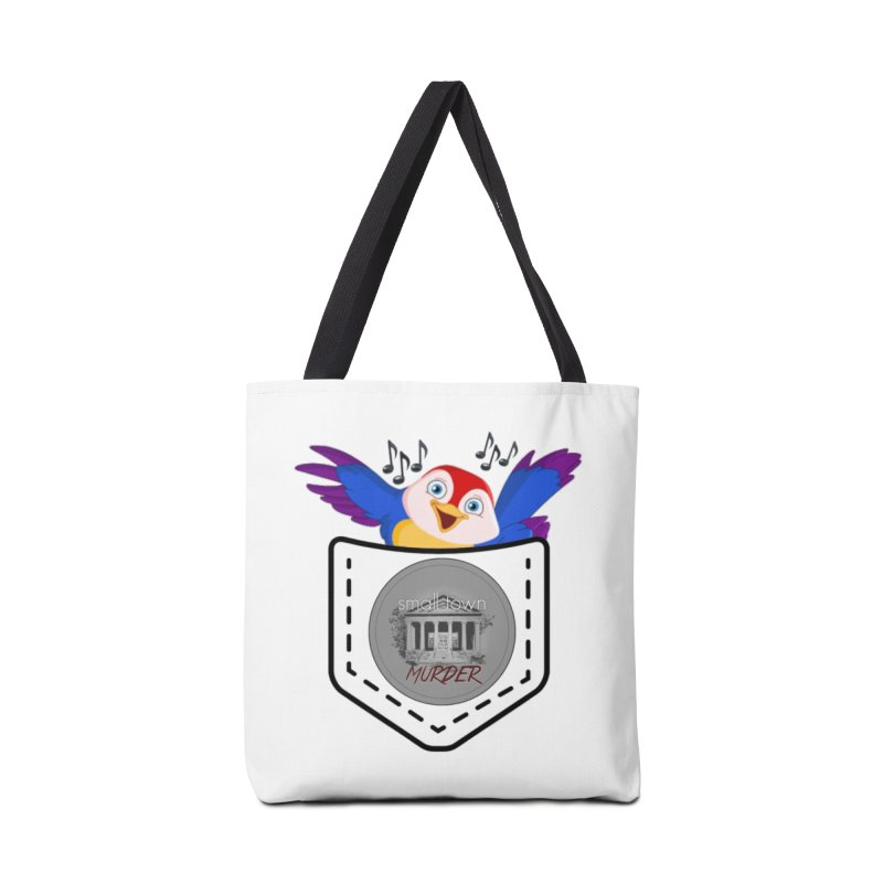 Pocket Robin Accessories Tote Bag Bag by True Crime Comedy Team Shop