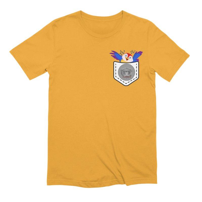 Pocket Robin Men's Extra Soft T-Shirt by True Crime Comedy Team Shop