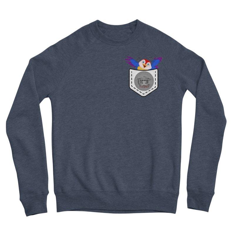 Pocket Robin Men's Sponge Fleece Sweatshirt by True Crime Comedy Team Shop
