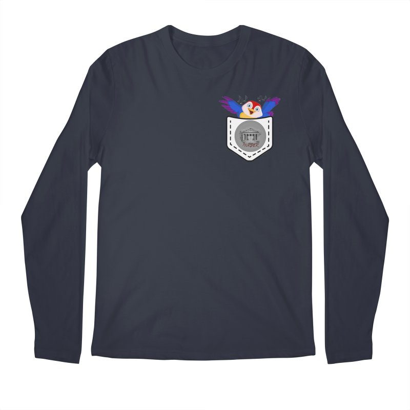 Pocket Robin Men's Regular Longsleeve T-Shirt by True Crime Comedy Team Shop