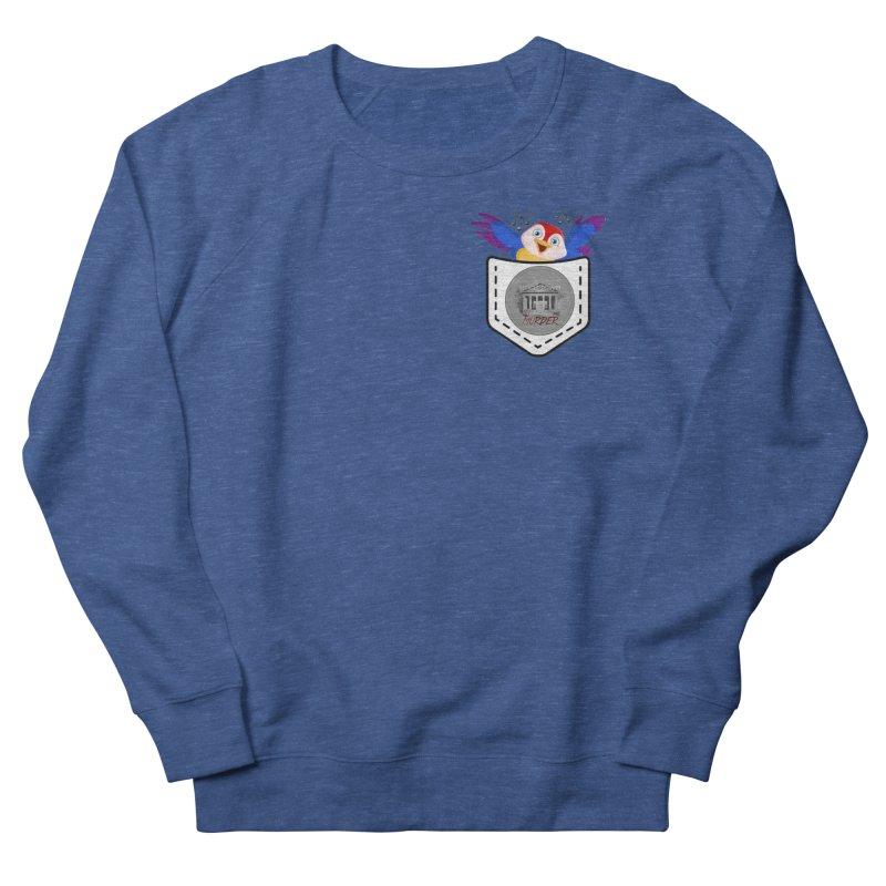 Pocket Robin Men's French Terry Sweatshirt by True Crime Comedy Team Shop