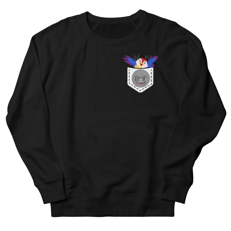 Pocket Robin Men's French Terry Sweatshirt by True Crime Comedy Team Shop