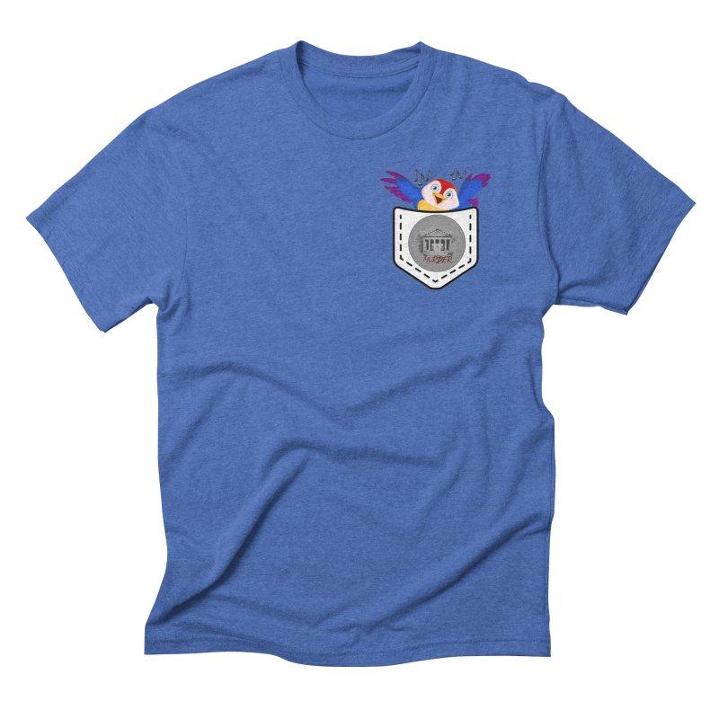 Pocket Robin Men's Triblend T-Shirt by True Crime Comedy Team Shop
