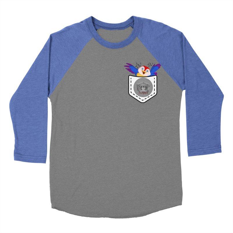 Pocket Robin Women's Baseball Triblend Longsleeve T-Shirt by True Crime Comedy Team Shop