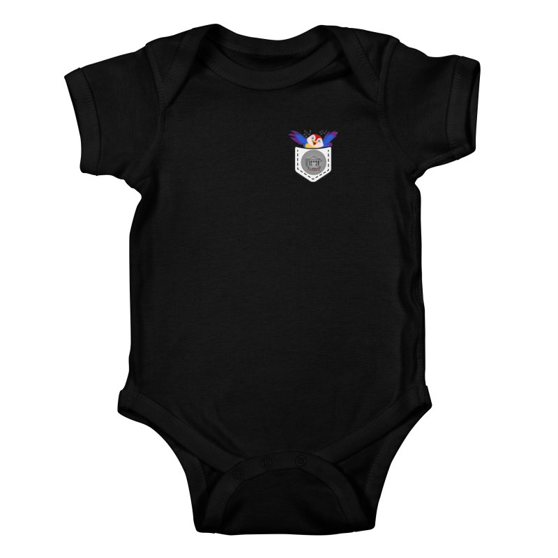 Pocket Robin Kids Baby Bodysuit by True Crime Comedy Team Shop