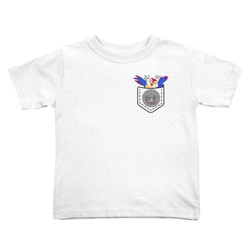 Pocket Robin Kids Toddler T-Shirt by True Crime Comedy Team Shop