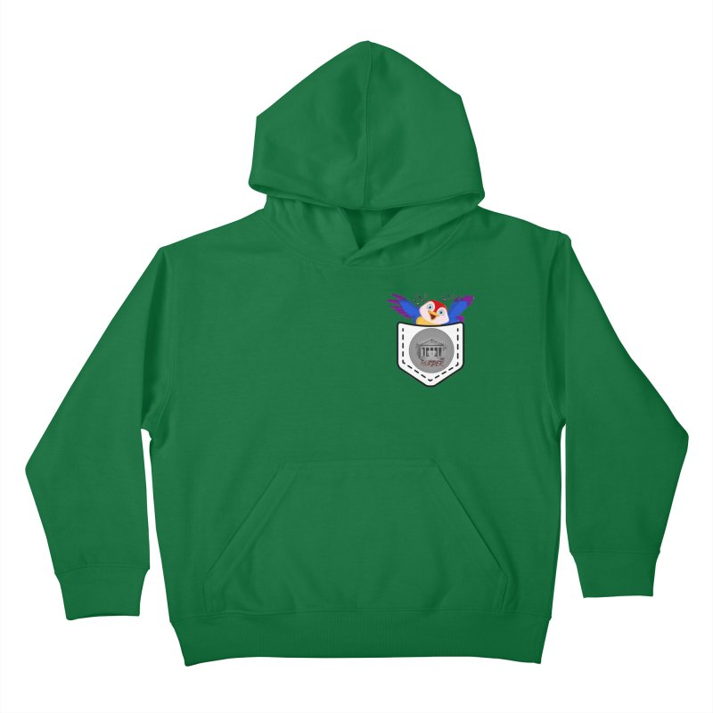 Pocket Robin Kids Pullover Hoody by True Crime Comedy Team Shop