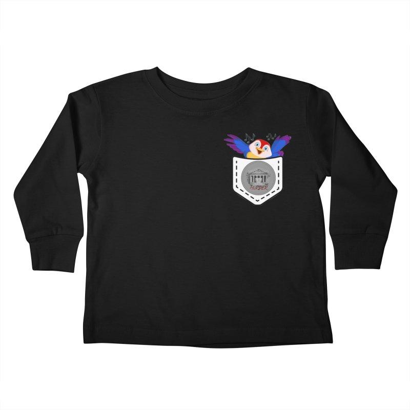 Pocket Robin Kids Toddler Longsleeve T-Shirt by True Crime Comedy Team Shop