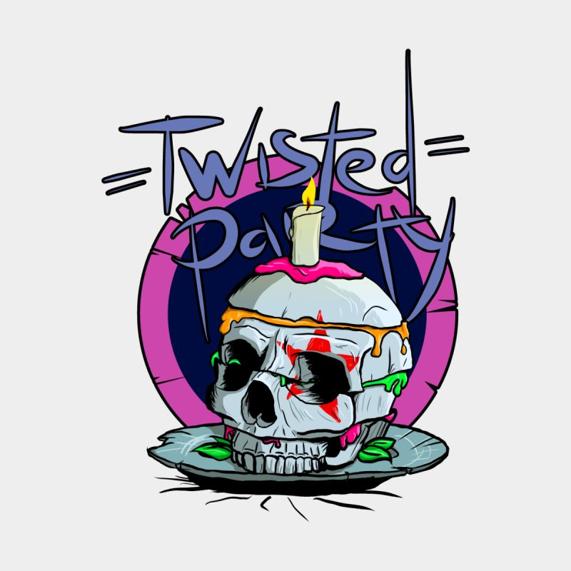 Twisted Party Men's T-Shirt by CRIMSON's DESIGN