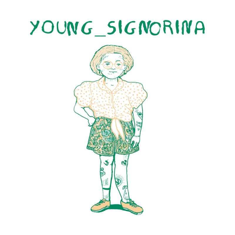 young_signorina by crisportolano's Artist Shop