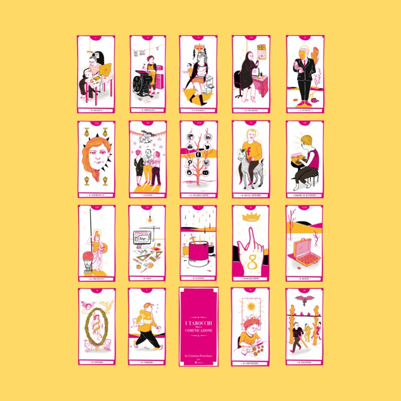 Tarot of the communication by Cristina Portolano