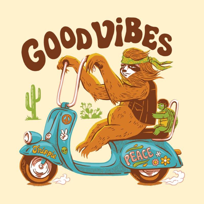 Good Vibes Men's T-Shirt by Crispy Design Artist Shop
