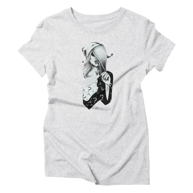 Masquerade 02 Women's T-Shirt by cristinastefan's Artist Shop