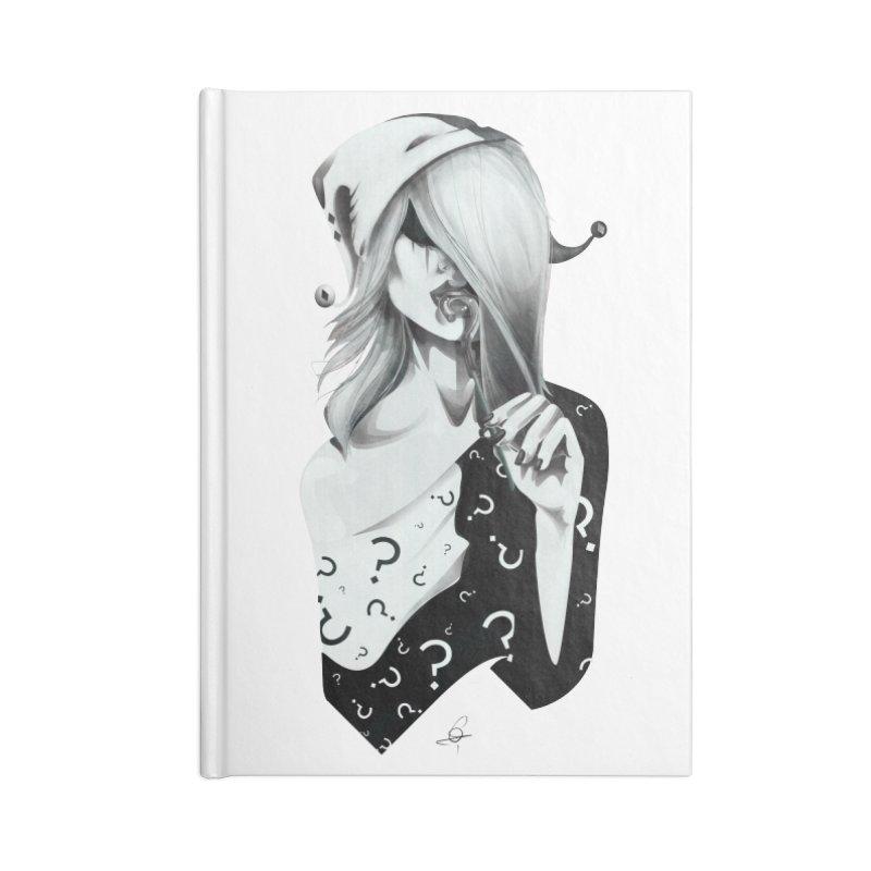Masquerade 02 Accessories Notebook by cristinastefan's Artist Shop