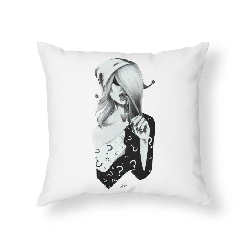 Masquerade 02 Home Throw Pillow by cristinastefan's Artist Shop