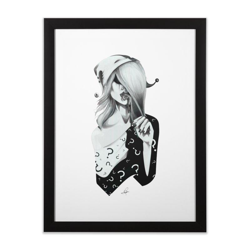 Masquerade 02 Home Framed Fine Art Print by cristinastefan's Artist Shop