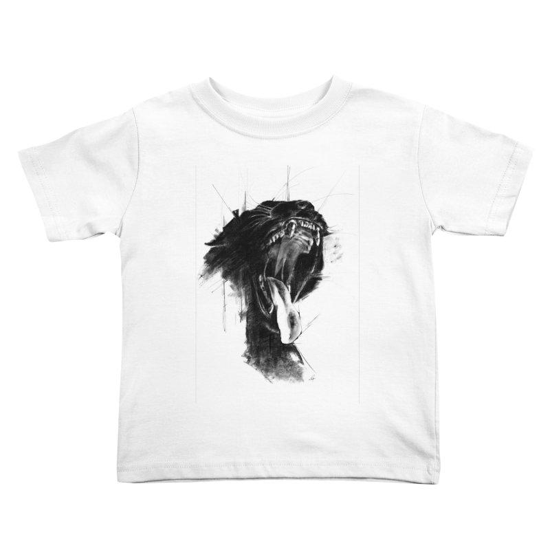 The Untamed Kids Toddler T-Shirt by cristinastefan's Artist Shop