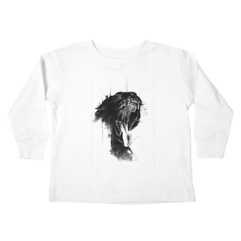 The Untamed Kids Toddler Longsleeve T-Shirt by cristinastefan's Artist Shop