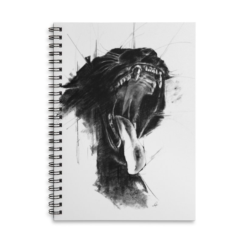 The Untamed Accessories Notebook by cristinastefan's Artist Shop