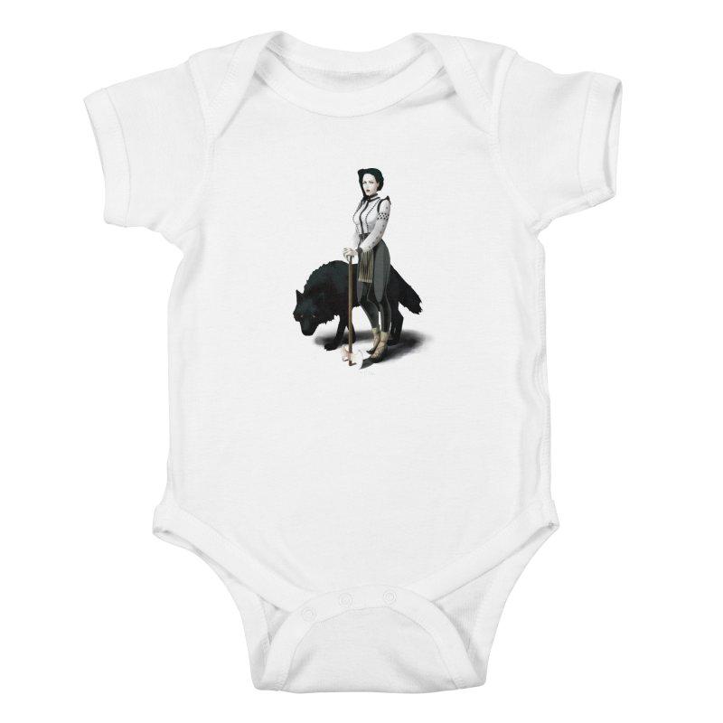 The Hatchet League - Vitoria Kids Baby Bodysuit by cristinastefan's Artist Shop