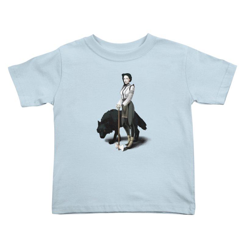 The Hatchet League - Vitoria Kids Toddler T-Shirt by cristinastefan's Artist Shop