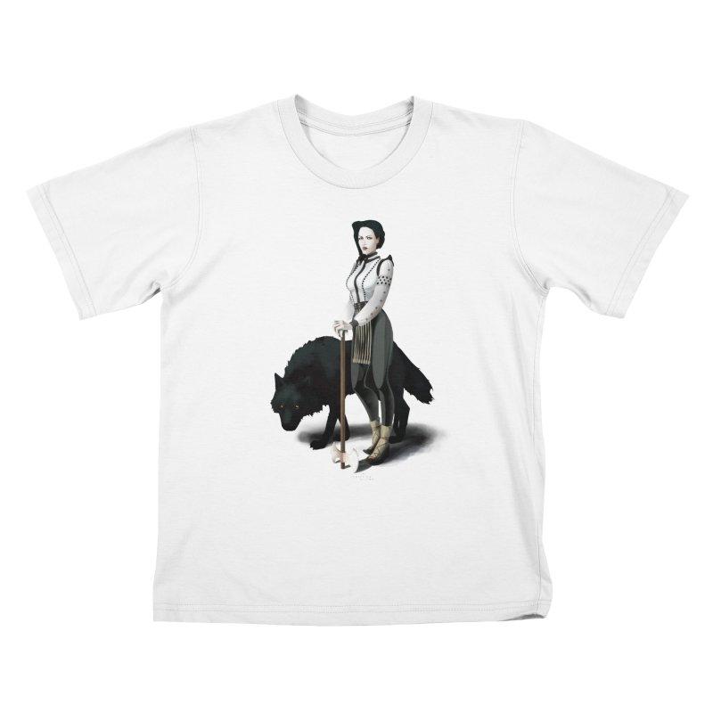 The Hatchet League - Vitoria Kids T-Shirt by cristinastefan's Artist Shop