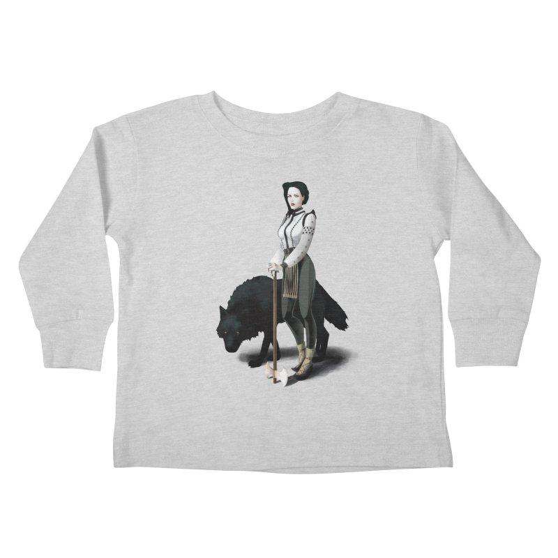 The Hatchet League - Vitoria Kids Toddler Longsleeve T-Shirt by cristinastefan's Artist Shop