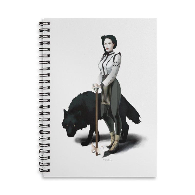 The Hatchet League - Vitoria Accessories Notebook by cristinastefan's Artist Shop