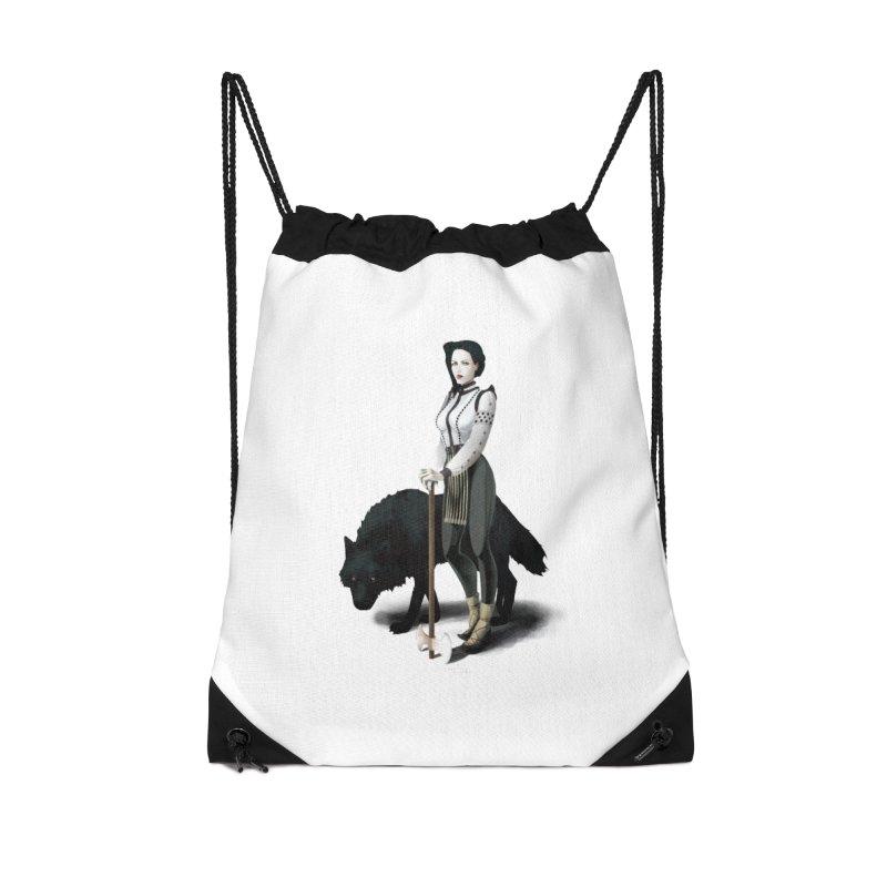 The Hatchet League - Vitoria Accessories Bag by cristinastefan's Artist Shop