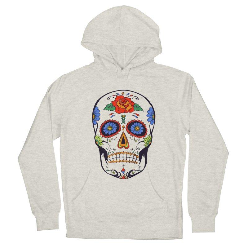 Sugar skull Men's Pullover Hoody by cristiscg's Artist Shop