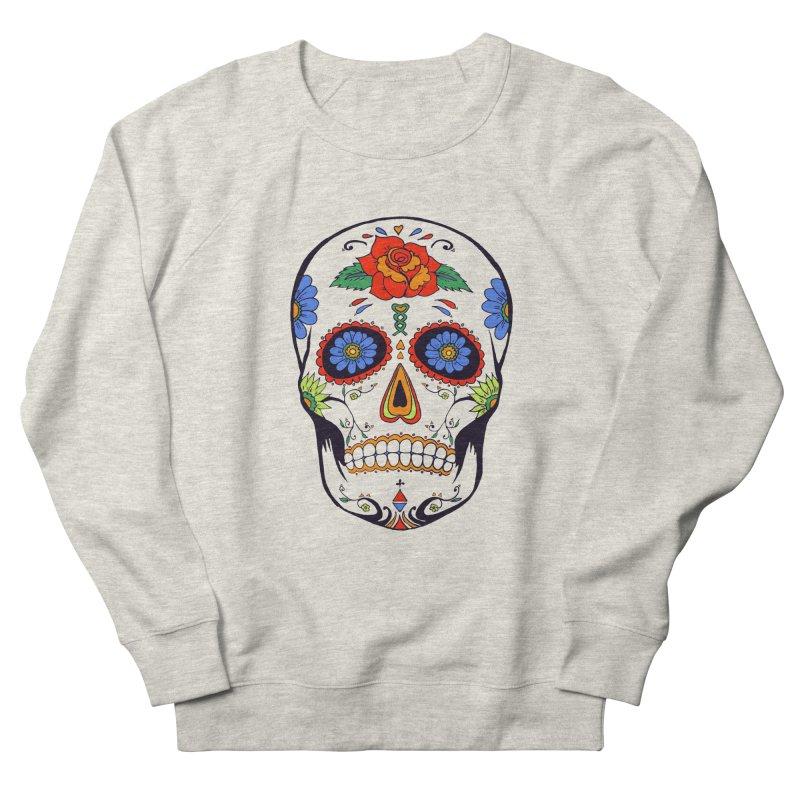 Sugar skull Men's Sweatshirt by cristiscg's Artist Shop