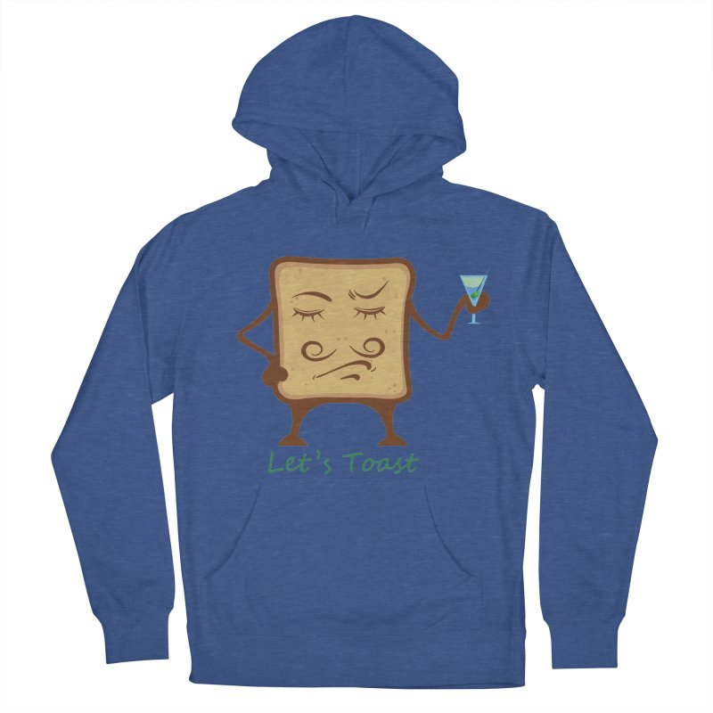 Toast Men's Pullover Hoody by cristiscg's Artist Shop