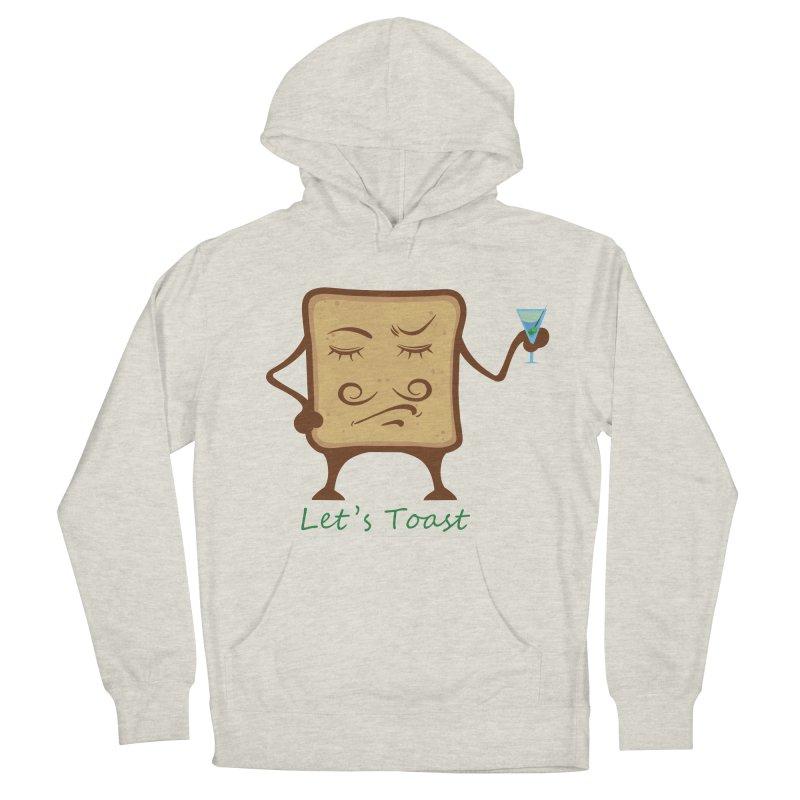 Toast Men's Pullover Hoody by cristiscg's Artist Shop