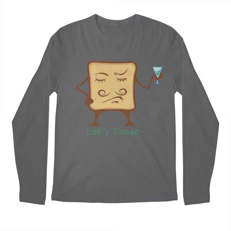 Toast Men's Longsleeve T-Shirt by cristiscg's Artist Shop