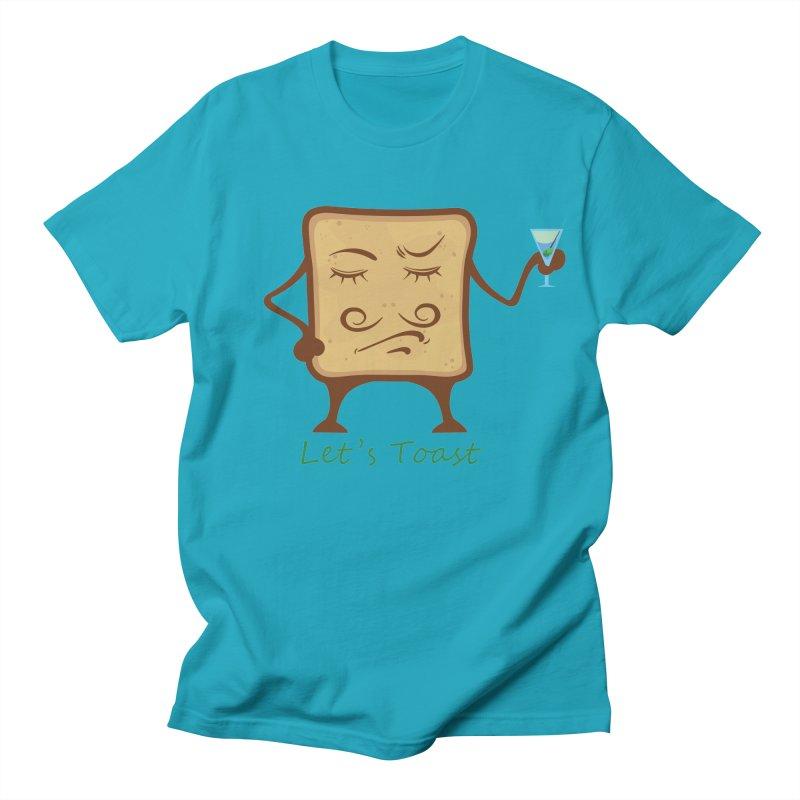 Toast Women's Unisex T-Shirt by cristiscg's Artist Shop