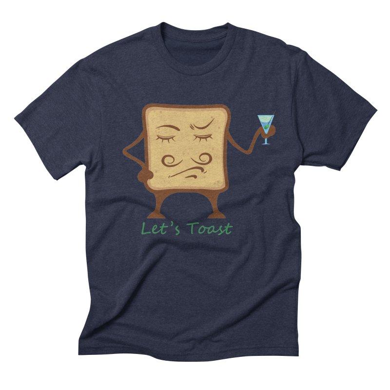 Toast Men's Triblend T-Shirt by cristiscg's Artist Shop