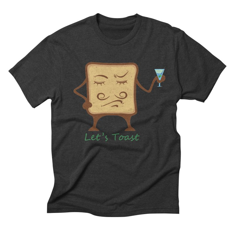 Toast Men's Triblend T-Shirt by cristiscg's Artist Shop